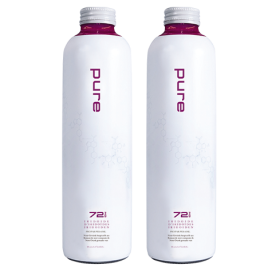 Pure 2 x 750 ml Glasflasche
